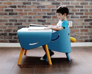 Cute elephant kids furniture