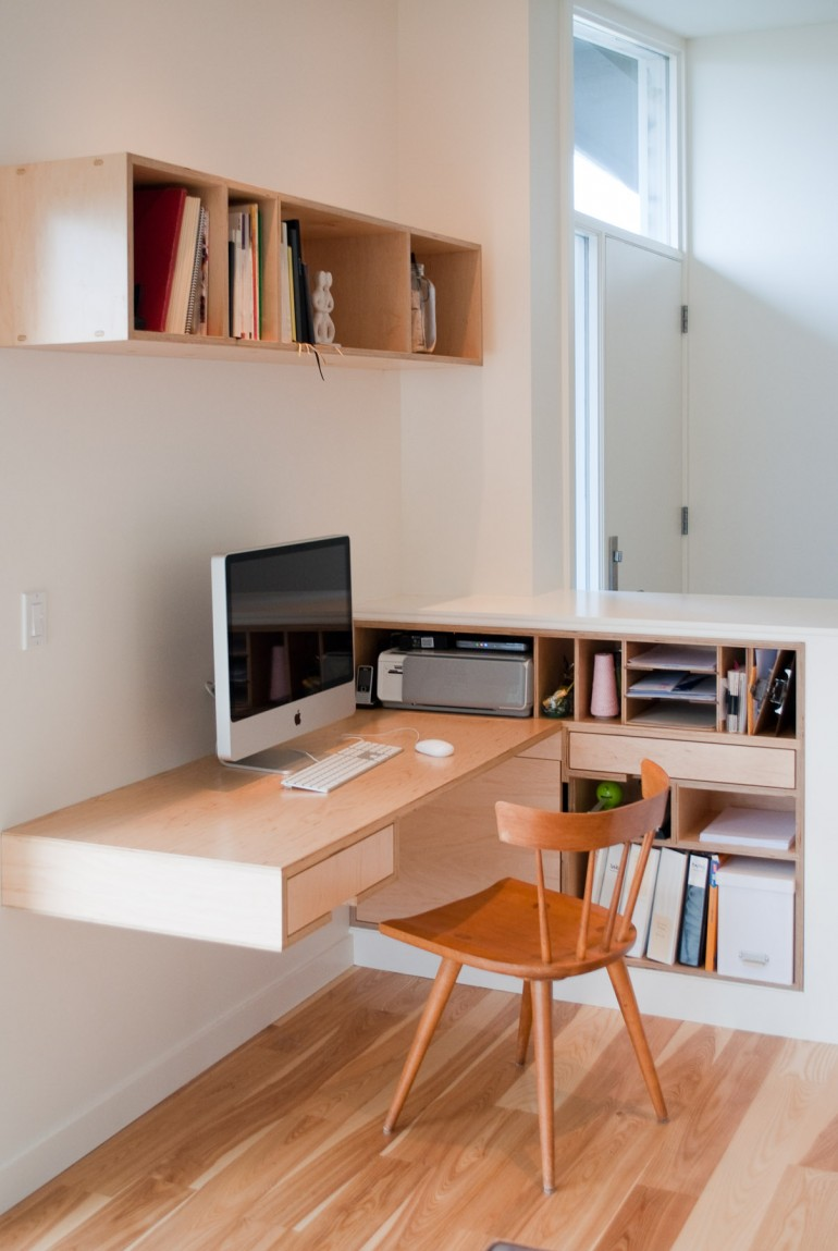 Kim's desk – Small Home Offices