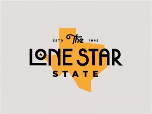 The Lone Star State (Tee) by Steve Wolf