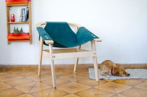 Simple and elegant chair, Nignal invites you to DIY