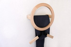 Wall-mounted MODO coat rack
