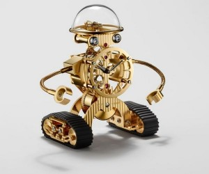 What do you think about this Sherman robot clock