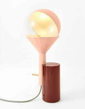 You can use this table lamp to perform the phases of the moon