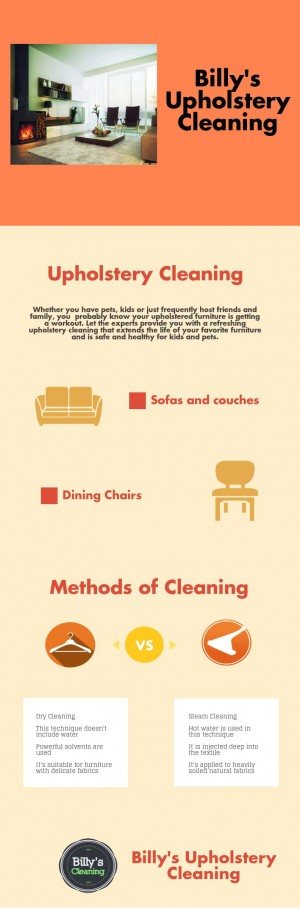 Billy's Upholstery Cleaning