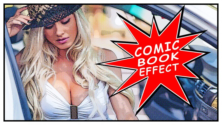 Comic Book Effect in Photoshop | Pop Art Effect in Photoshop