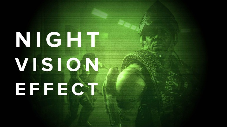 Night Vision Effect in Photoshop