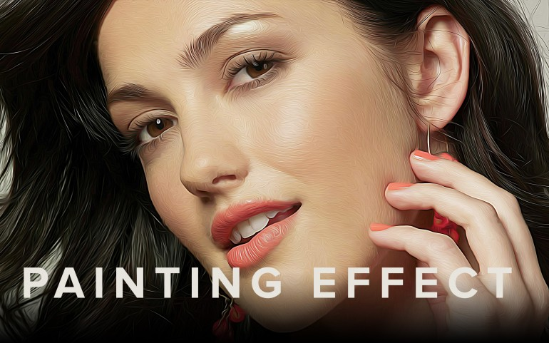 Photoshop Painting Effect   Oil Painting Effect in Photoshop   Soft Smudge Effect