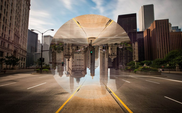 Reflection in Photoshop | Geometric Reflection in Photoshop