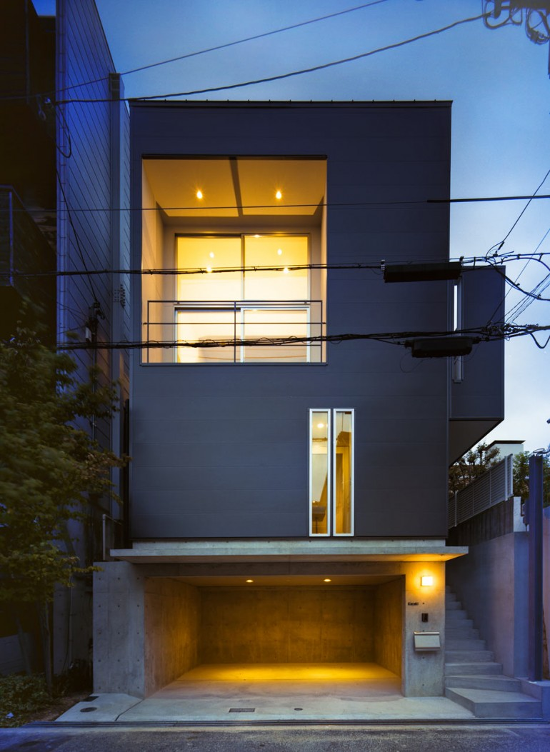 Smart Small Space Design House In Konan By Coo Planning On Inspirationde