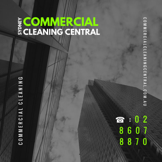 """A poster we made for """"Commercial Cleaning Central"""". Hope you like it, we went for t ..."""