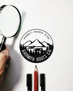 """New branding work is finished!The owner Briana for @growthrootsco says:""""The bible verse ..."""