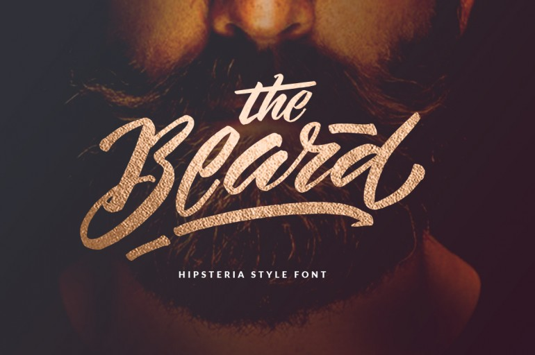 The Beard – Branded Typeface