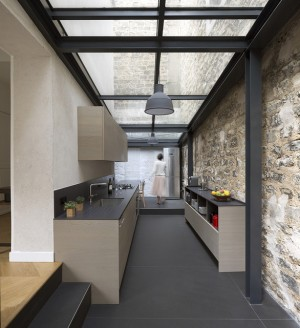 Renovating a house – Paris – THINK TANK architecture