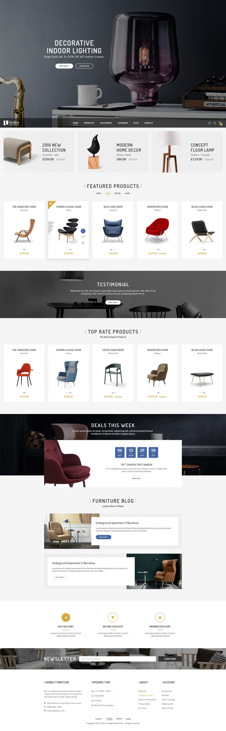 Umbra – Furniture & Interior