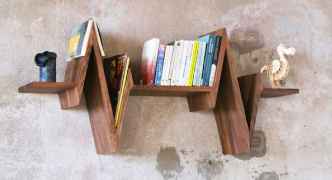 Wooden Beat Shelf