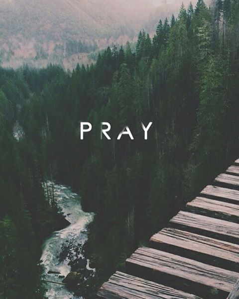 Pray about it as much as you think about it