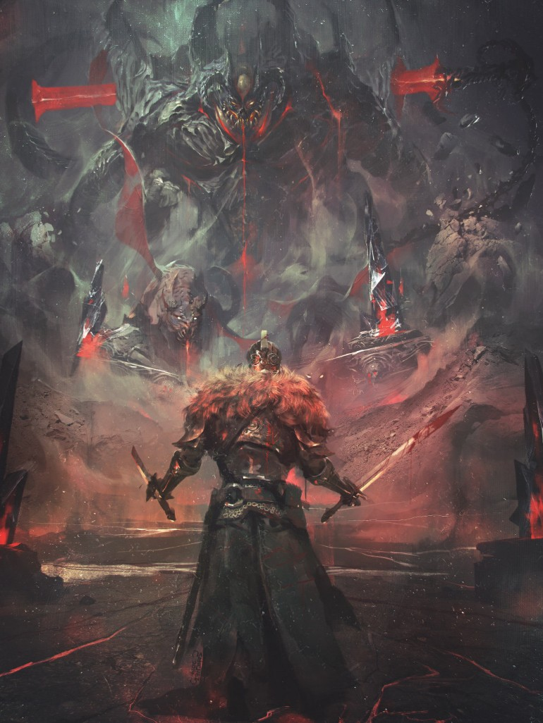 Death Defier – Dark Souls 2 fan art