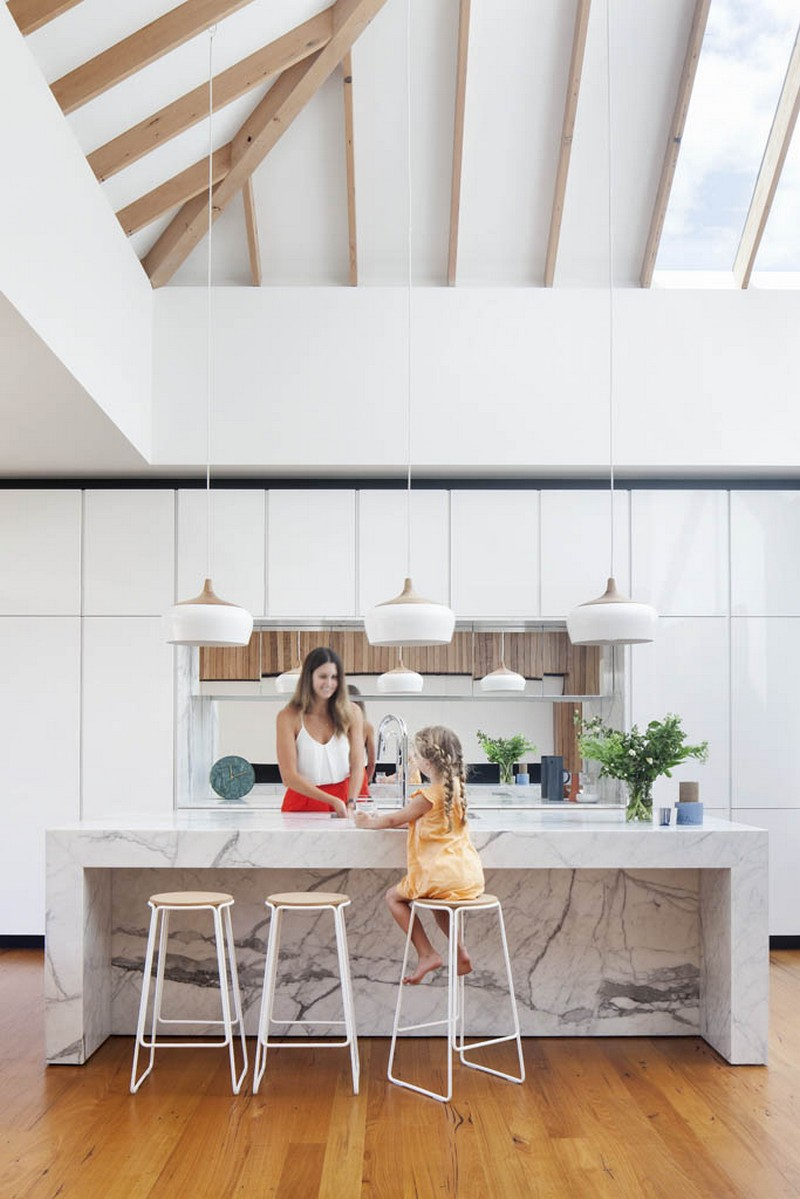 Victorian Terrace House by Matt Gibson Architecture and Design