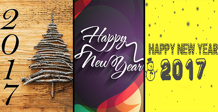 In this roundup we have gathered some 2017 Happy New Year