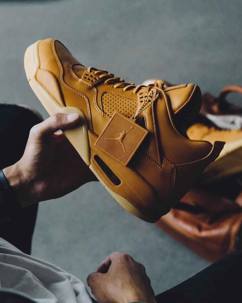 special sales best sell good looking Air Jordan 4 Retro Premium 'Ginger' on Inspirationde