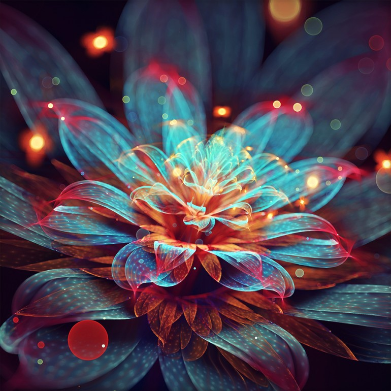 Blooming flame by fractist