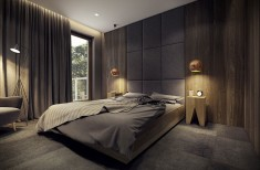 Modern bedroom – Modern apartment n°1 – img06