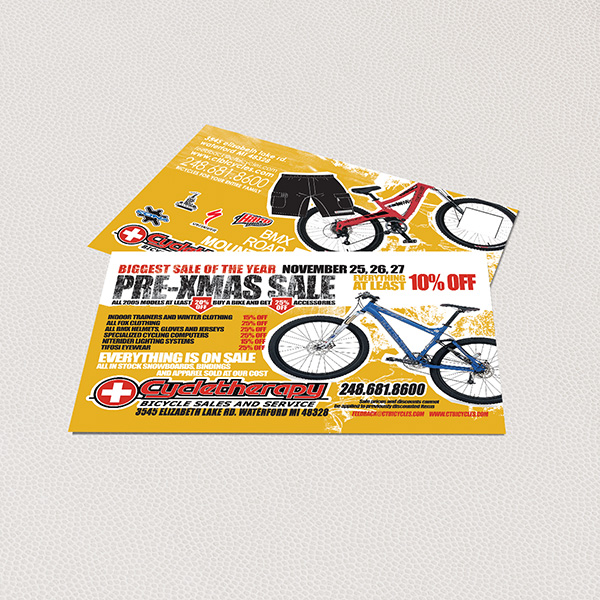 Cycle Therapy Flyer Design
