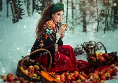 Russian Fairy Tales Come to Life into Creative Fashion Portraits