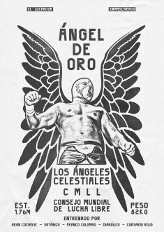 Zoran Lucić's posters for Lucha Libre visualise the stars of Mexican wrestling