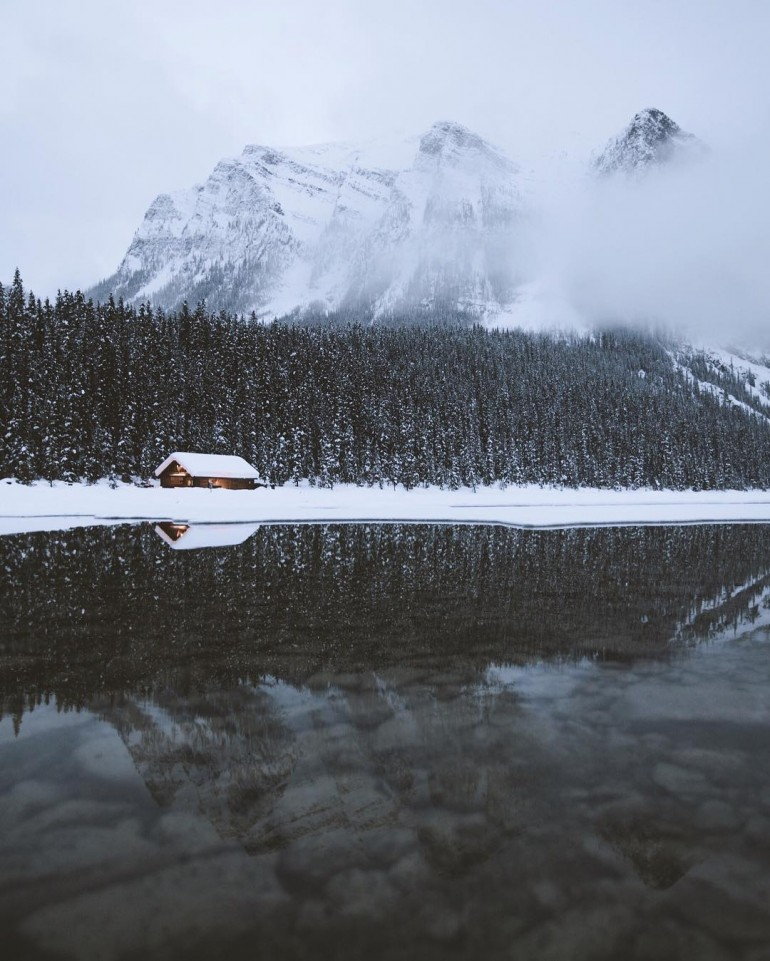 Lake Louise, Alberta by Nick La Cava