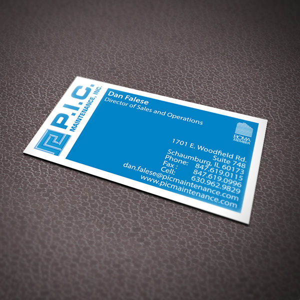 PIC Business Card Design