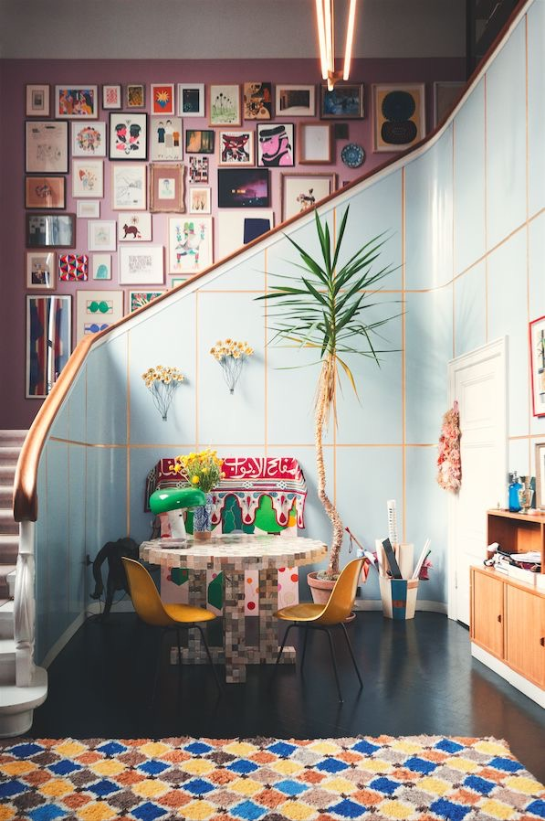 Pink and Blue – Chris's House