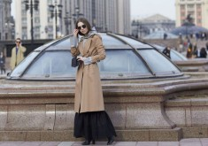 Russia Fashion Week Street Style