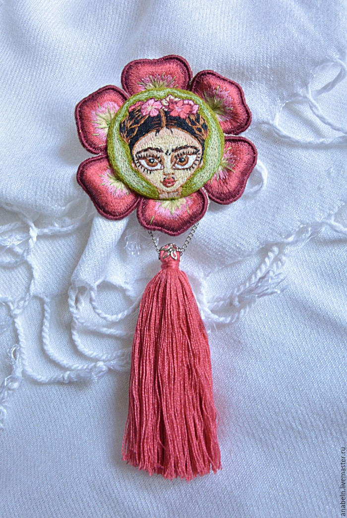 Tiny Painting Replicas Using Embroidery