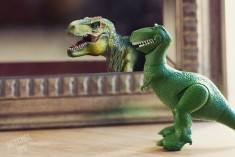 Artist Photograph Toys to Show Fun and Silliness of Life