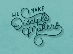Disciple Makers Mural by Joshua Redmond