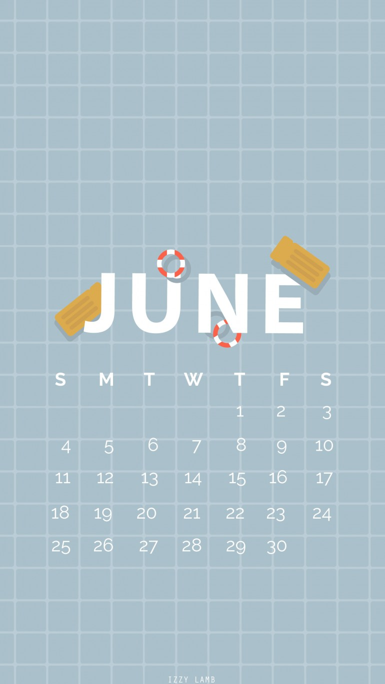 Free wallpapers for June–happy summer