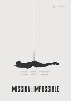 Mission Impossible alternative movie poster