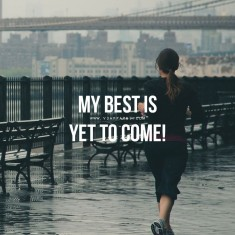 New Year Fitness Motivation – My best is yet to come!