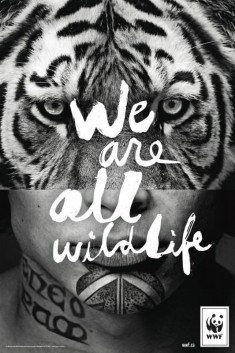 For WWF, we are all animals