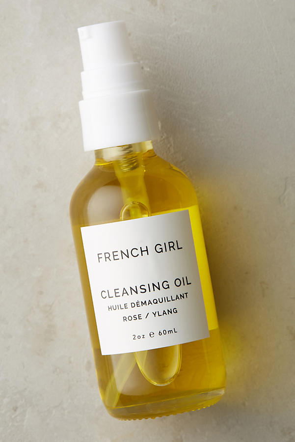 French Girl Organics Rose Facial Oil Cleanser