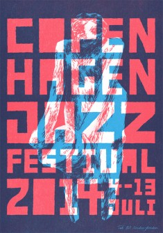 Final Jazz Poster by MikkelSommer