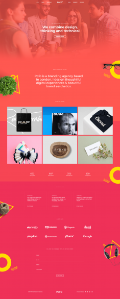 Pofo Creative WordPress Theme – Creative Designer