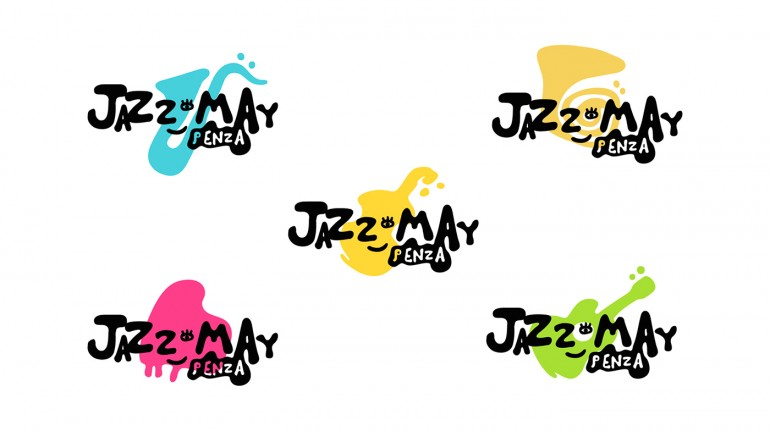 Jazz fest Logo design