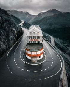 Hotel Belvédère – Furka Pass Switzerland by Josh Perrett