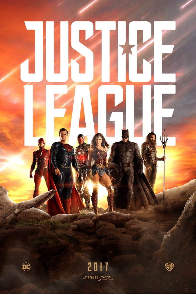 Justice League Poster by jonesyd1129