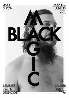 Max Snow Black Magic Poster, Betherlands
