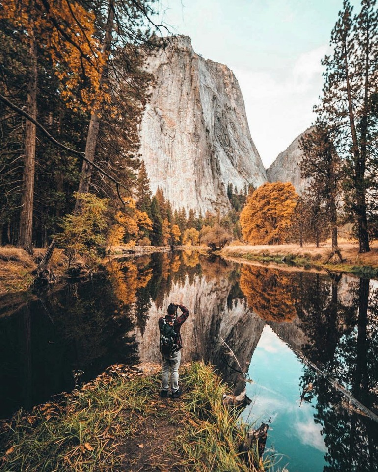 Fall in the valley – Yosemite National Park