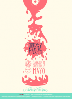 Promotional Poster Mother's Day, Andres Carne de Res
