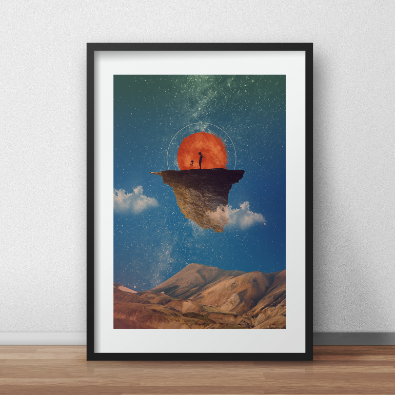Story about the Rose – Little Prince art print